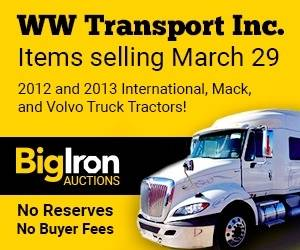2012 and 2013 International, Mack and Volvo Truck Tractor