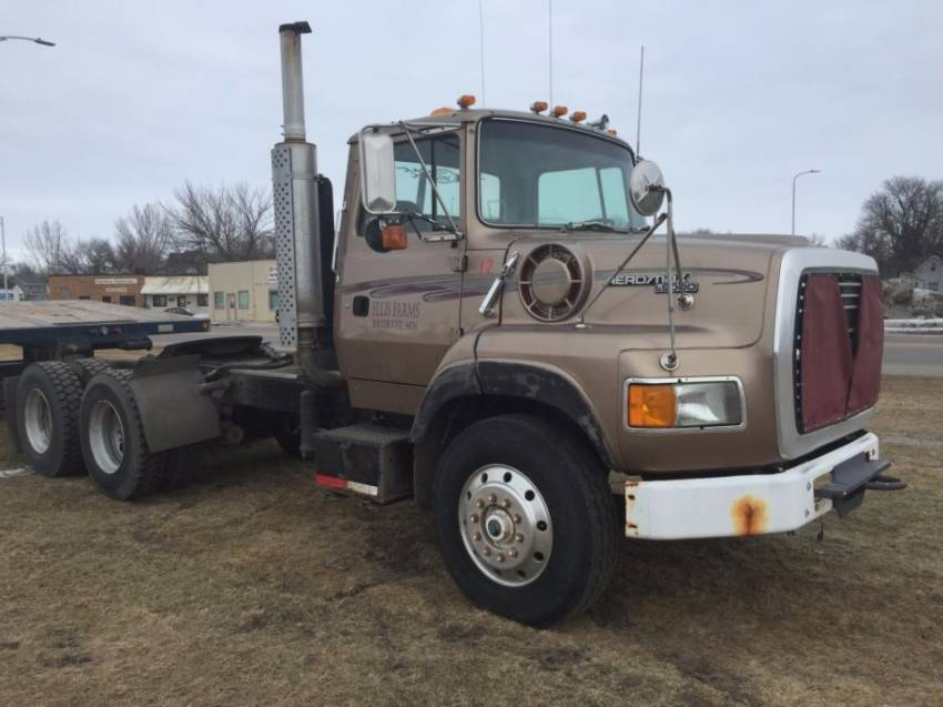 Cabover Trucks For Sale >> 1992 Ford L9000 Cabover Trucks W Sleeper For Sale Rg Truck Sales