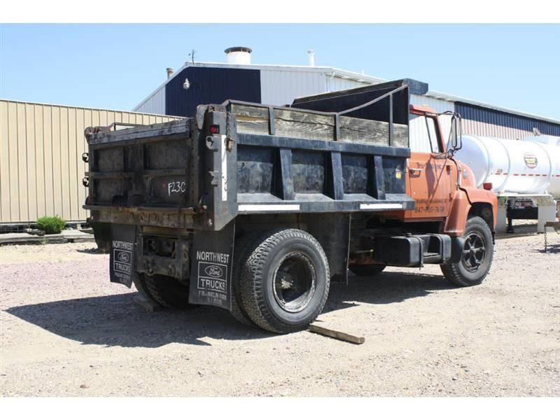 1984 ford ln700 dump truck for sale erickson trucks n - Craigslist quad cities farm and garden ...