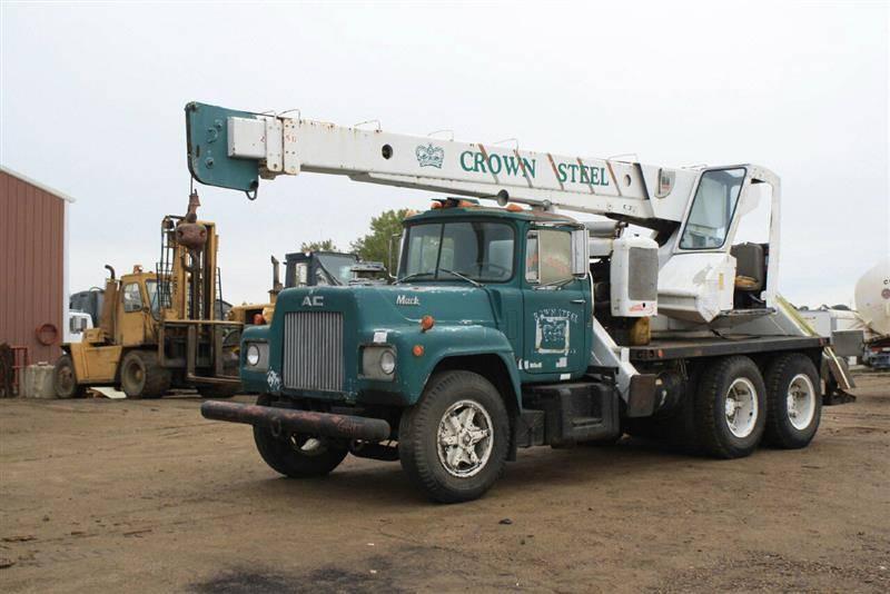Crane Truck For Sale >> 1974 Mack Crane Truck For Sale In Jackson Mn Erickson Trucks N