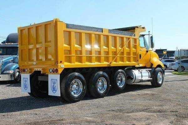 2011 International ProStar Dump Truck, Cummins ISX, 450HP
