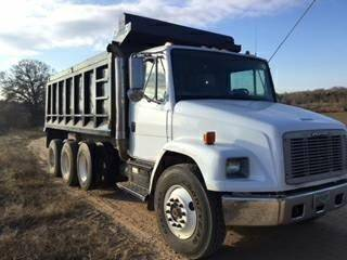 2003 Freightliner FL80 Dump Truck C7 Engine 7 Speed Tri Axle