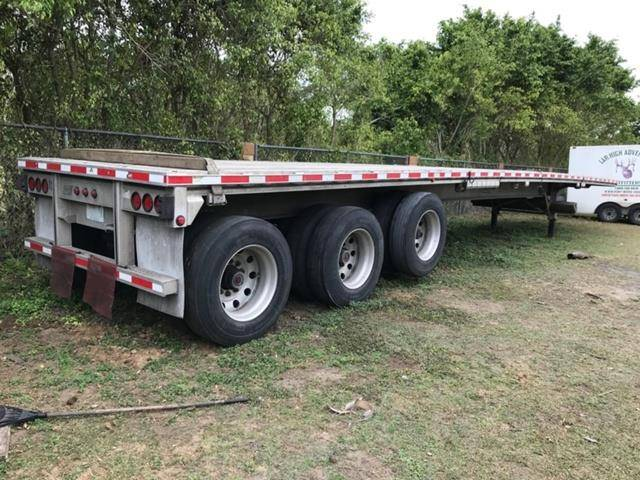 2004 Manac Flatbed Trailer 53x102, Aluminum, Tri Axle For Sale in, Granbury  TX | iTAG Equipment