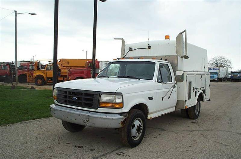 1997 Ford F 350 Chassis Cab Cab Chassis Trucks For Sale Erickson