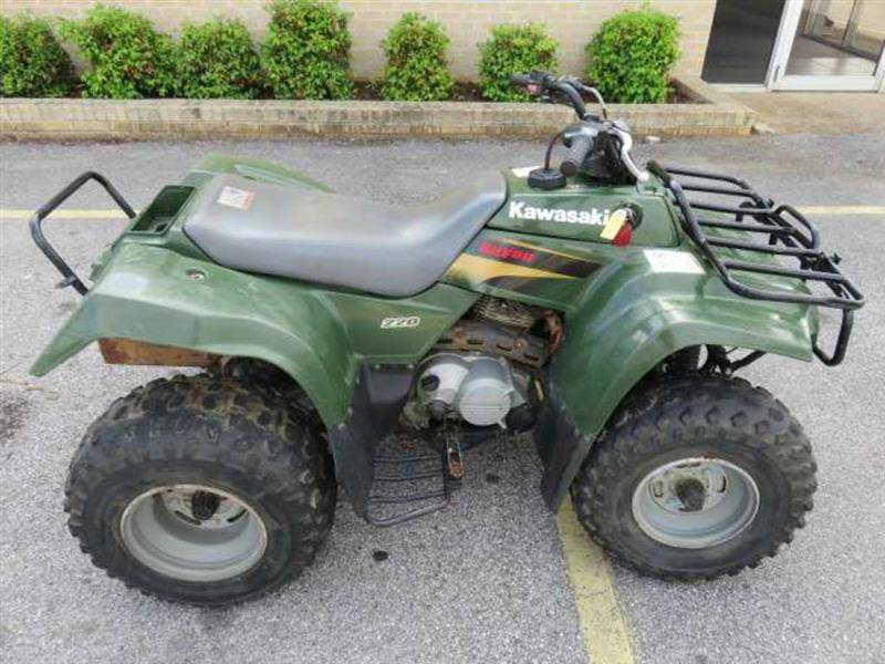 2001 Kawasaki Bayou 220 UTVs For Sale | Longs Cycle Center ...