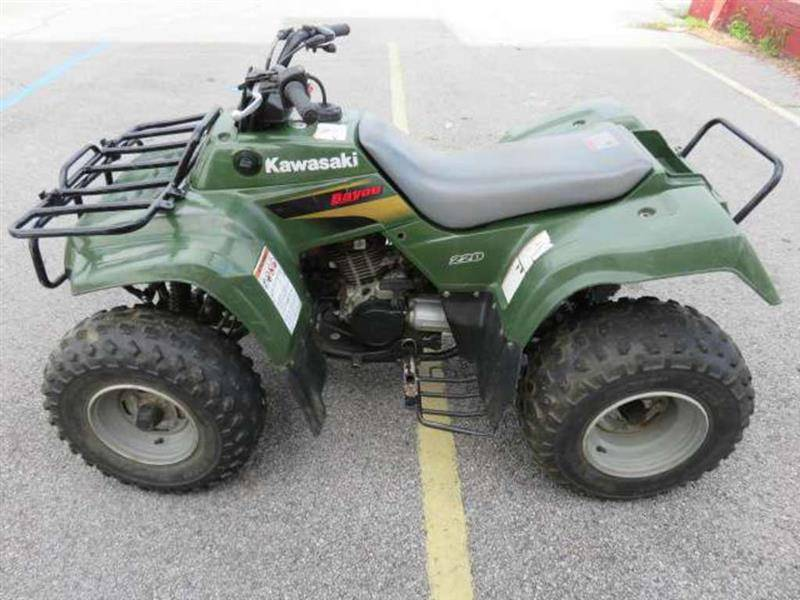 2001 kawasaki bayou 220 utvs for sale longshore cycle center tnvalley wheels. Black Bedroom Furniture Sets. Home Design Ideas